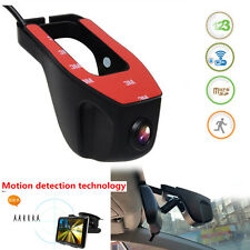 Hidden HD 1080P WIFI Recorder Car Dash Camera G-sensor ACC Connect Dual storage