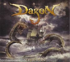 DAGON - TERRAPHOBIC (*NEW-CD, 2009, Bombworks Records) Christian Death Metal