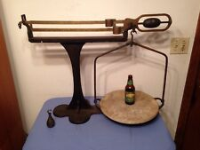 Rare Huge Antique Buffalo Scale Co Balance Country Store Scale Scarce