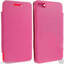 FOR BLACKBERRY Z10 BATTERY BACK PU LEATHER CASE COVER POUCH + SCREEN PROTECTOR