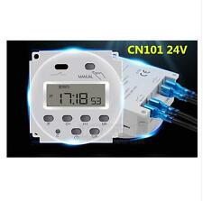 CN101A Digital LCD Power Weekly Programmable Electronic Timer Switch  DC 12V 16A