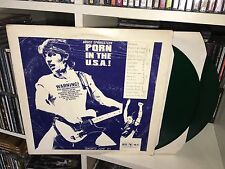 BRUCE SPRINGSTEEN PORN IN THE USA DOUBLE LP VINYL GREEN VERDE LIVE TORONTO 1984