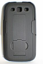 PureGear Shell + Holster Combo Case For Samsung Galaxy S III S3 with Kickstand