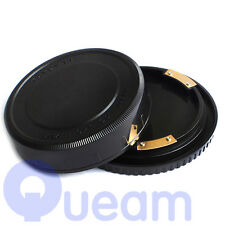 Rear Lens Cap and Body Cap For Pentax 67