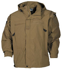 US PCU Combat Outdoor Soft Shell Jacket Jacket Coyote tan Level 5 Size S / Small