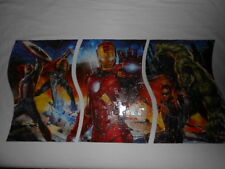 Marvel Avengers 3 IN 1 Panorama Jigsaw Puzzle 135 Pieces Collectable Tin