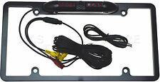 LICENSE COLOR REAR VIEW CAM W/ NIGHT VISION LED'S FOR ALPINE IVA-D310 IVAD310