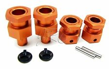 BAJA 5B SS Orange HEX HUBS 24mm ( & front hub nuts) 112457 HPI  2014 edition