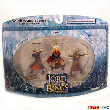 LOTR AOME Elven Warriors of Helm's Deep 3 soilders set