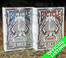 Grid 2.0 Bicycle Playing Cards Set