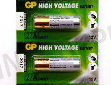 Lot of 2-GP Super 27A / MN27/ -- Fresh Alkaline Batteries - 12V Fast Shipping
