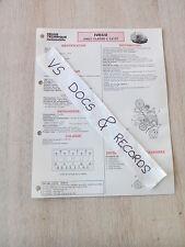 FICHE TECHNIQUE AUTOMOBILE RTA IVECO DAILY CLASSE L 2.8 DT (n°17)