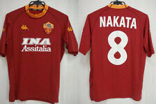 2000-2001 AS Roma Jersey Shirt Maglia Home INA Assitalia Kappa Hide Nakata #8 M