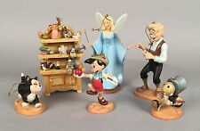 WDCC Pinocchio - 6 Piece Christmas Ornament Set - Walt Disney LE 4000