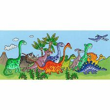 BOTHY THREADS DINOSAUR FUN by JULIA RIGBY CROSS STITCH KIT - NEW XJR22