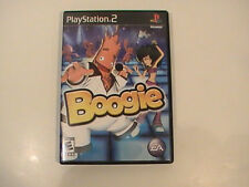 Boogie PS2 Video Game E shake dance floor move party music singing TESTED GOOD