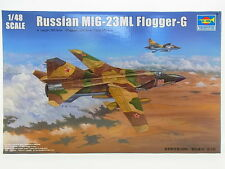 "LOT 12714 | TRUMPETER 02855 ""Russian MIG-23ML Flogger"" 1:48 Bausatz NEU in OVP"