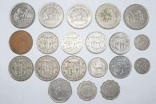Maurice: 10 roupie 2000. 5 x 5. 8 x 1. demi roupie. 2 x trimestre. 2 x 10. 5 cents