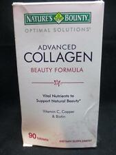 Nature's Bounty Optimal Solutions Advanced Collagen Beauty Formula 90 Tabs 6/17