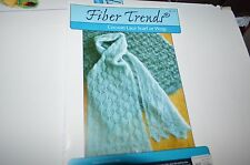 Fiber Trends Knitting Pattern AC-75 Cocoon Lace Scarf or Wrap