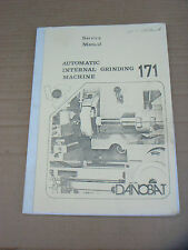DANOBAT AUTOMATIC INTERNAL GRINDING MACHINE No 171 SERVICE MANUAL
