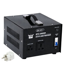 STU 2000 W Watt Step Up Down 110V 220V Voltage Converter Transformer