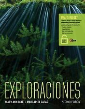 Exploraciones (with iLrnTM Heinle Learning Center, 4 terms (24 months) Printed A