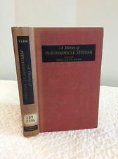 A HISTORY OF PHILOSOPHICAL SYSTEMS By Vergilius Ferm, editor - 1950 - 1st ed