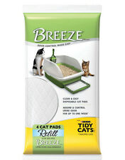 10x Tidy Cats Breeze Litter Pad 4-count Refill Packages(Total 40 counts)