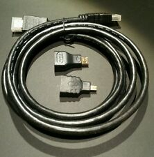 3IN1 HDMI TO HDMI / MINI HDMI / MICRO HDMI ADAPTER CABLE KIT FOR TABLET PC TV US