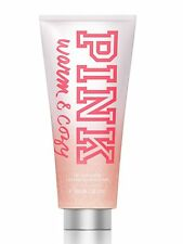 Victoria Secret Pink cálido y confortable Body Wash Y Exfoliante 300ml