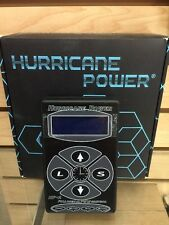 Hurricane HP-2 Black Dual Digital LCD Tattoo Power Supply- New Version