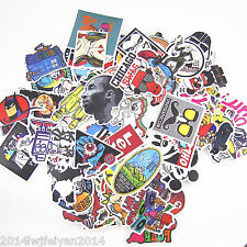 100Pcs /LOT Sticker Bomb Decal Vinyl Roll Car Skate Skateboard Laptop Luggage