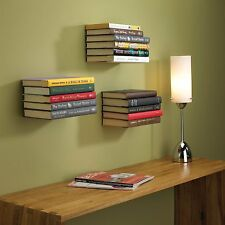 Invisible Book Shelf Matt Orange