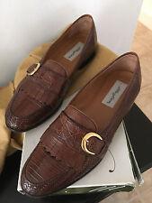 Mezlan Tan 9.5 Crocodile Men's Shoes