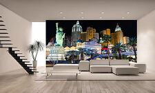 New York,Hotel and Casino Wall Mural Photo Wallpaper GIANT DECOR Paper Poster