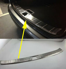 Rear Bumper Protector Sill plate cover Trim for 2015 2016 Nissan Qashqai Steel