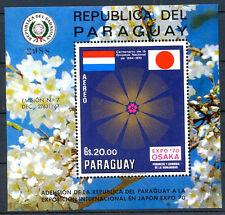 PARAGUAY - JAPAN Mi # Bl 148 MNH VF