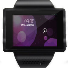 "An1 2.0"" Mini Black Android Touch Screen Smart Watch Mobile Cell Phone Bluetooth"
