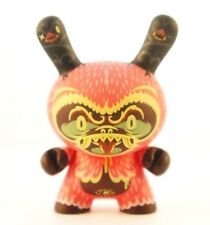 "Kidrobot Dunny 3"" Endangered Kronk Treehugger Fear Vinyl Urban Art Toy"
