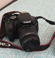 Canon EOS Rebel T3i 600D 18.0MP Dig SLR Camera - Blk Kit W/ EF-S IS W/ 4 Lenses