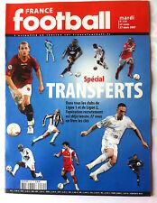 France Football du 27/3/2007; Spécial Transferts, Ribéry, Malouda, Cissé, Mexès