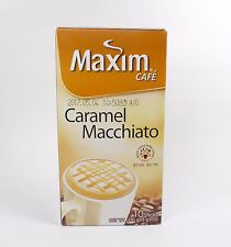 Korean Instant Coffee Maxim Caramel Macchiato Coffee Mix Popular Flavored Coffee