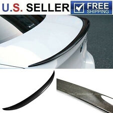06-11 BMW E90 3 Series 4 Dr P-Style Carbon Fiber Trunk Spoiler Wing M3 328i 335i
