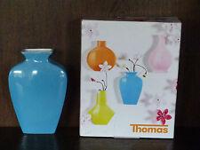 1 Wandvase Vase 13cm oval Sunny Day von Thomas Rosenthal water blue türkis