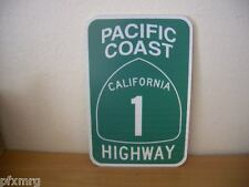 PACIFIC COAST HIGHWAY ROUTE 1 ROAD SIGN genuine hwy 101 66 california pch ca fwy
