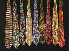 J. Garcia Lot of 9 Ties