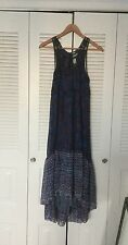 FREE PEOPLE FP One sz 2 Aphrodite Gauzy INDIA Maxi Boho Dress Spell Gypsy
