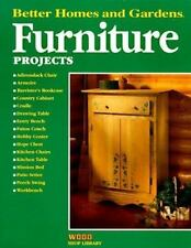 Furniture Projects (Better Homes & Gardens Wood Shop Library)-ExLibrary