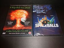 A BOY AND HIS DOG & SPACEBALLS-2 quirky sci-fi movies-DON JOHNSON, MEL BROOKS
